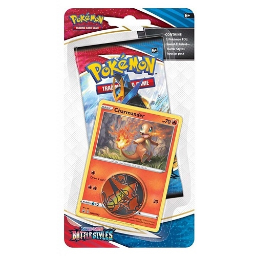 Pokemon Battle Styles - Checklane Blister Charmander - Pokemon kort